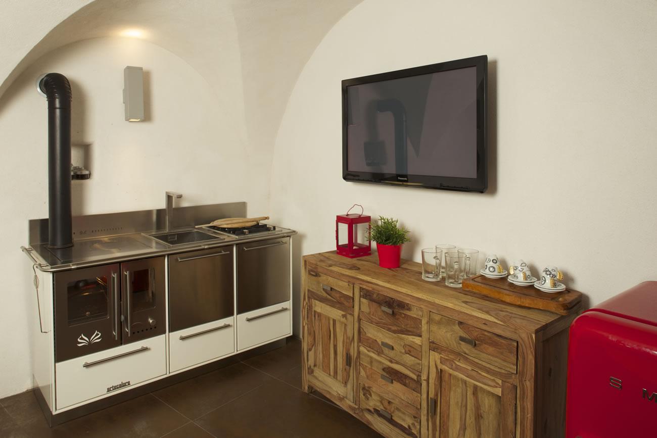 Cucine economiche a legna - Val di Sole - Trentino